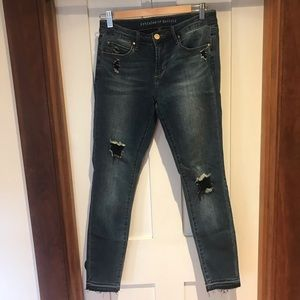 Articles of society high waist skinny jeans